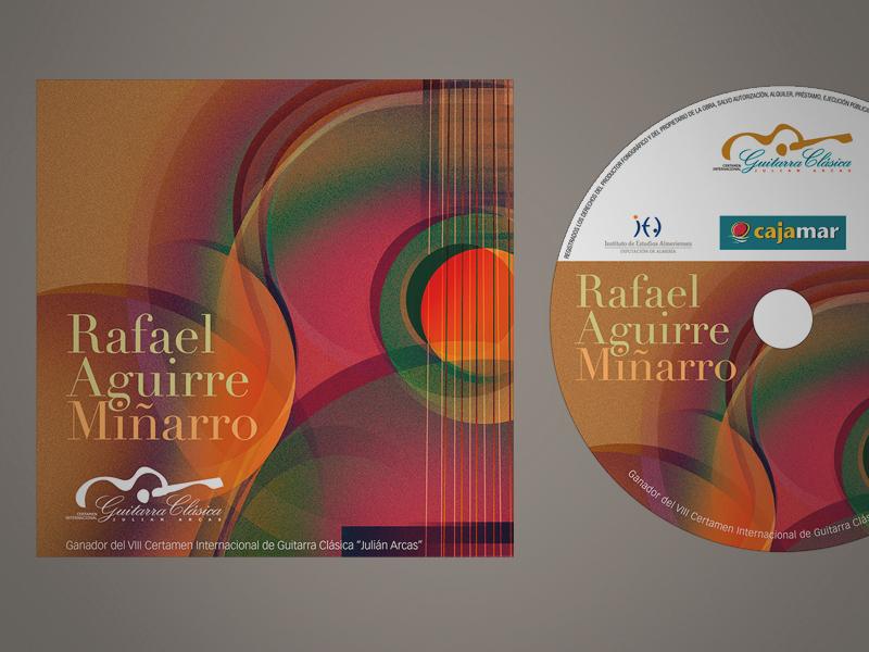 Diseño de CD ganador edición Julián Arcas 07