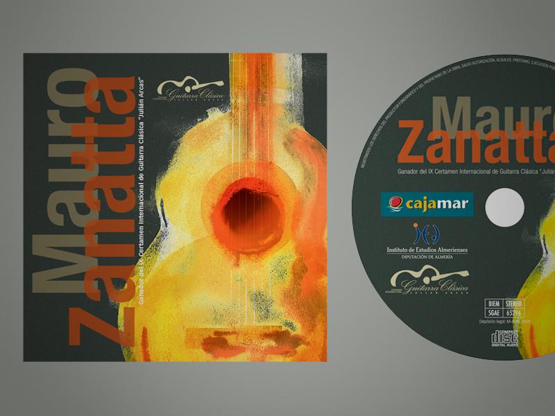 Diseño CD ganador edición Julián Arcas 08