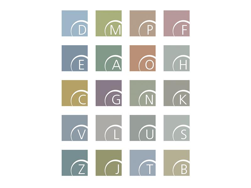 Estudio de color para desarrollo de marca