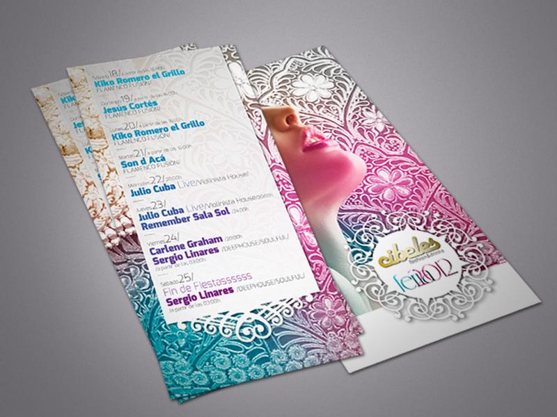 Cibeles Feria 2012 Flyer