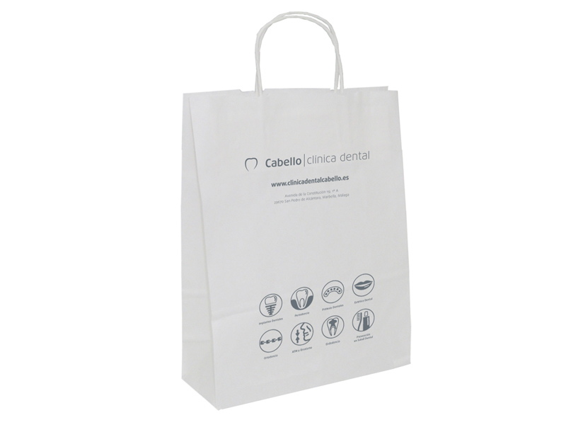 CABELLO clínica dental BOLSA PAPEL